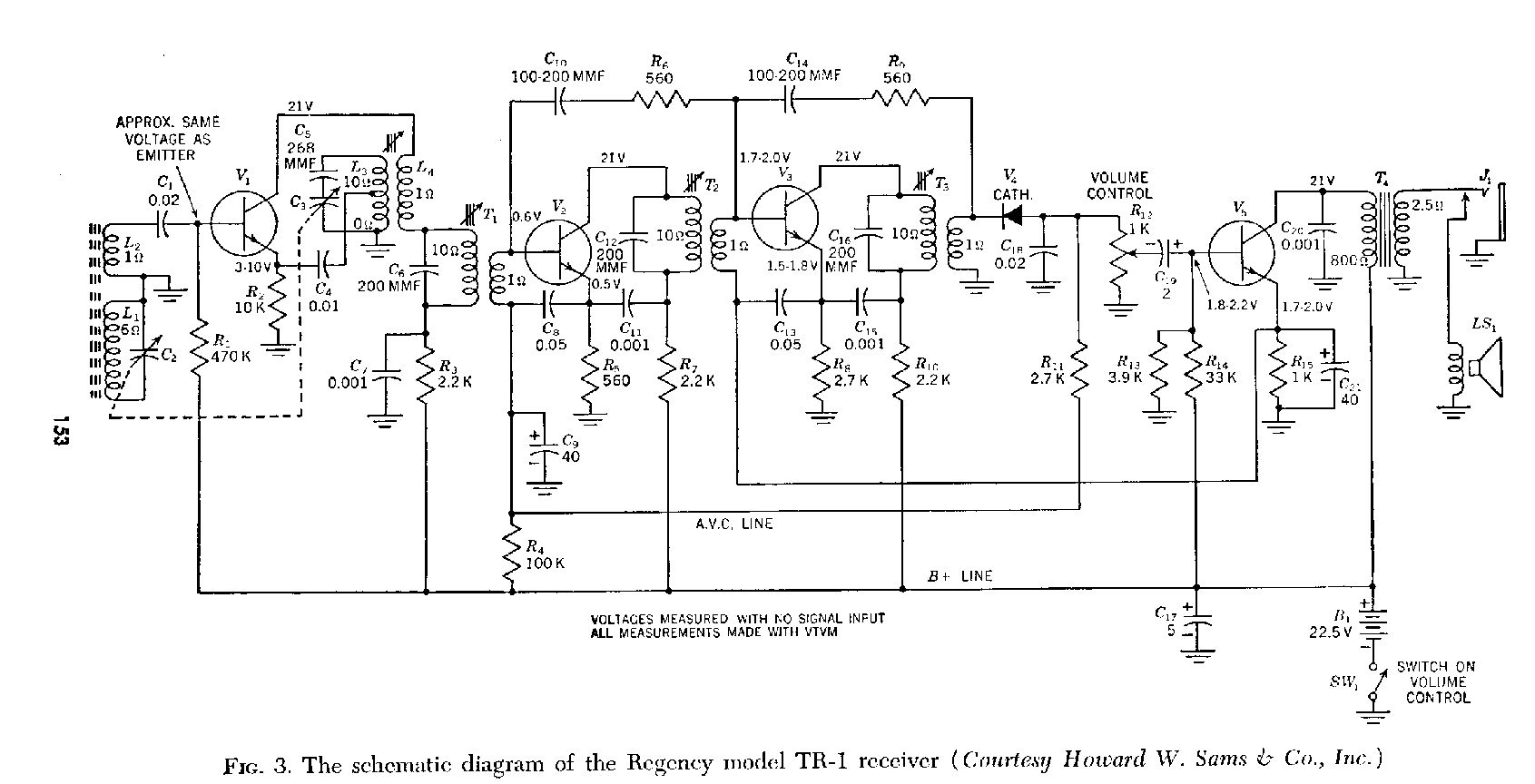 Transistor Diagrams Watt Fm Transmitter Circuit Diagram Tr1 Schematic
